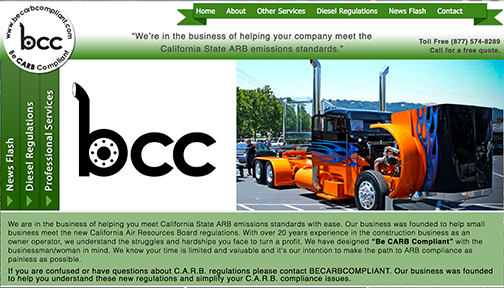 California's Resource for Carbon Emissions Standards